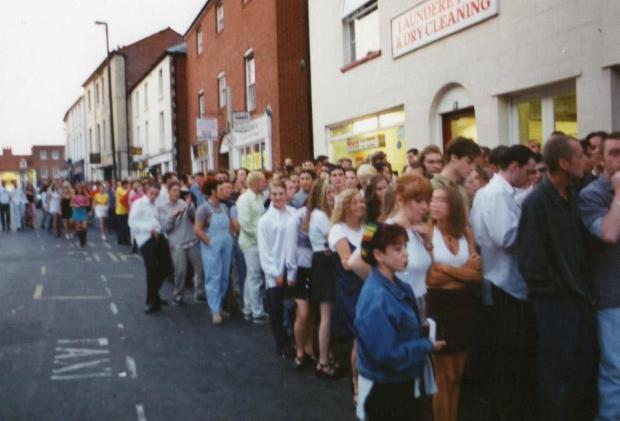 Hereford Times: Crystal Rooms nightclub, Bridge Street, Hereford
