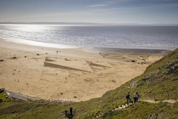 Hereford Times: Brean Beach is highly-rated on Tripadvisor