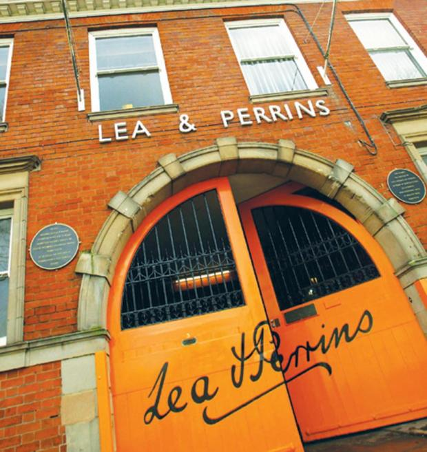 Hereford Times: The famous Lea and Perrins Worcestershire Sauce factory in Worcester