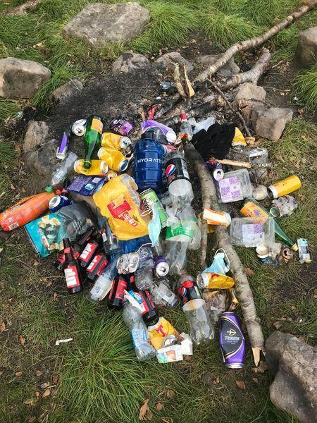 Littering is a major issue on the A49 Ross to Hereford road