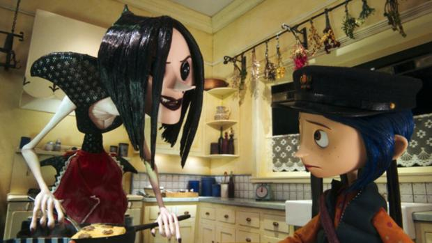 Hereford Times: If the vacant button eye visuals don't creep your kiddo out, this is a wonderful film. Credit: Laika