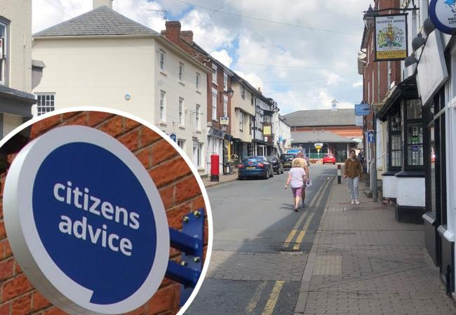 A new Citizens Advice service has started in Bromyard