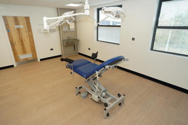 Hereford Times: The minor operations suite at the Station Medical Centre.