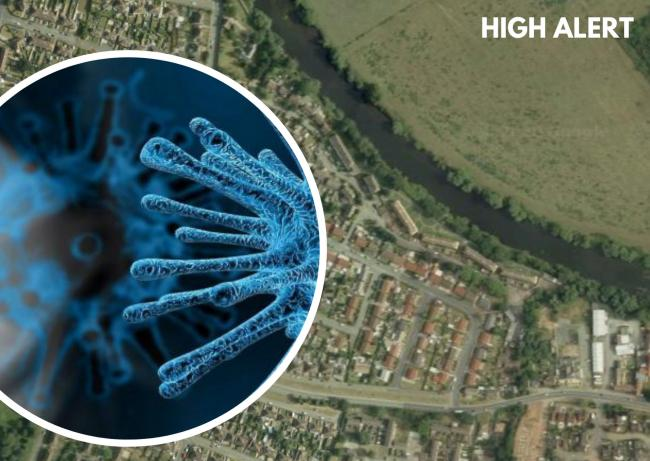 Alert: Big increase in coronavirus cases in south Hereford