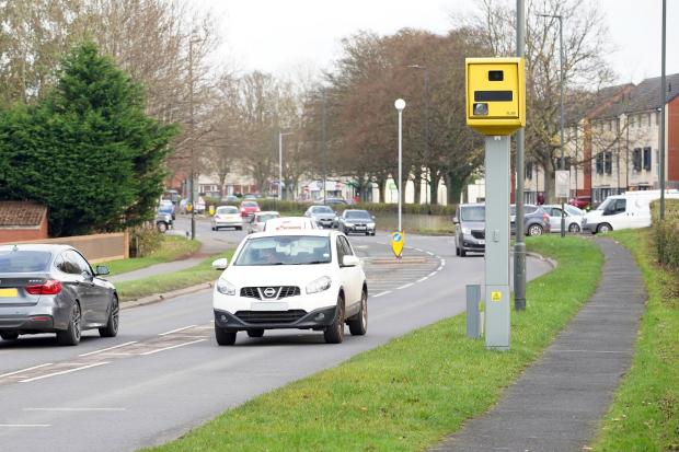 Hereford Times: Thousands of drivers have been caught out by the fixed speed camera on Belmont Road in Hereford