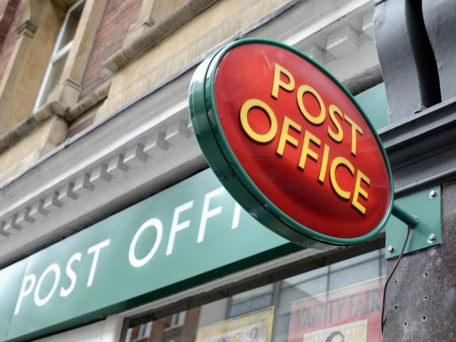 The post office in Leominster is closed until further notice. Stock picture