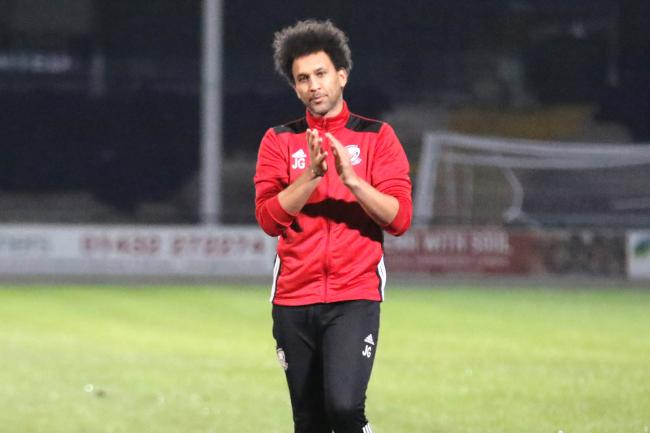 Hereford manager Josh Gowling. Picture: Steve Niblett/Hereford FC