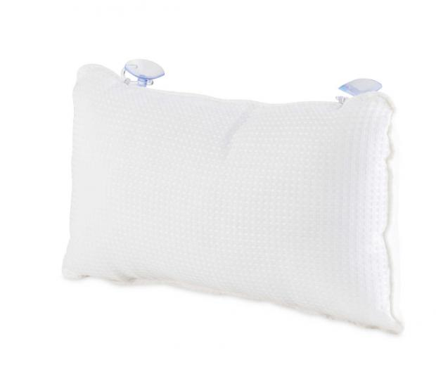 Hereford Times: Kirkton House White Bath Pillow. (Aldi)
