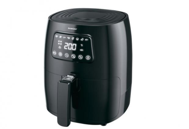 Hereford Times: Silvercrest Digital Air Fryer. (Lidl)