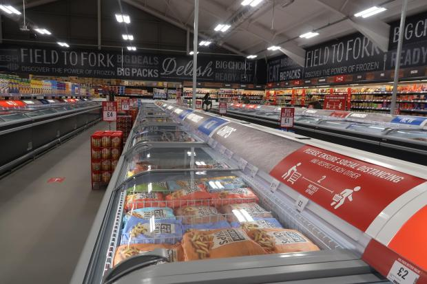 Hereford Times: Inside Weymouth's new Food Warehouse. Picture: Dorset Echo