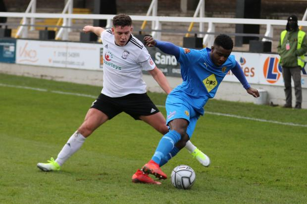 Hereford Times: Joey Butlin. Picture: Steve Niblett/Hereford FC