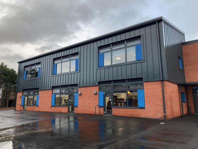 The £6 million revamp at Marlbrook Primary School in Hereford has been completed on time and on budget
