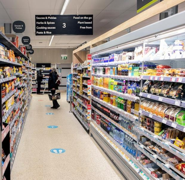 Hereford Times: The revamped Co-op supermarket in Kington