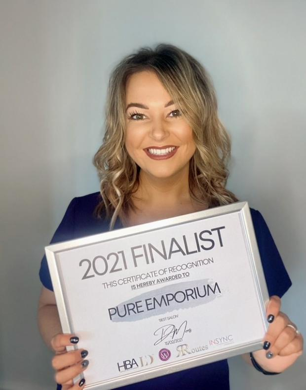 Hereford Times: Pure Emporium owner Amy Card