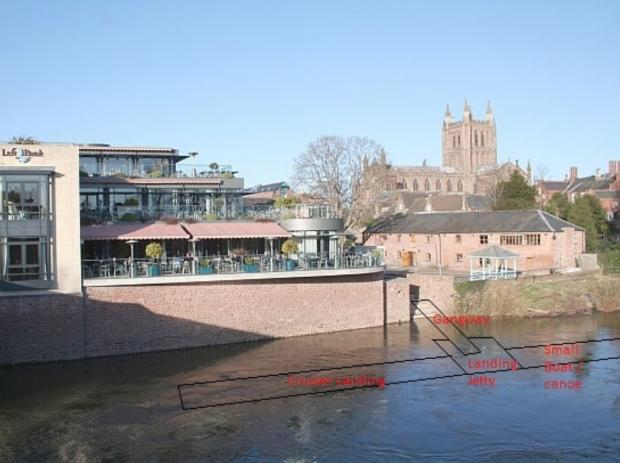 Hereford Times: A revamped riverside is one of the projects submitted to the Government as part of the proposal