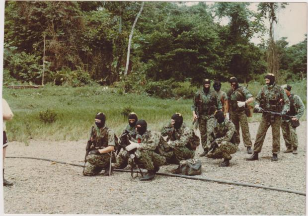 Hereford Times: British mercenaries in Colombia in 1989