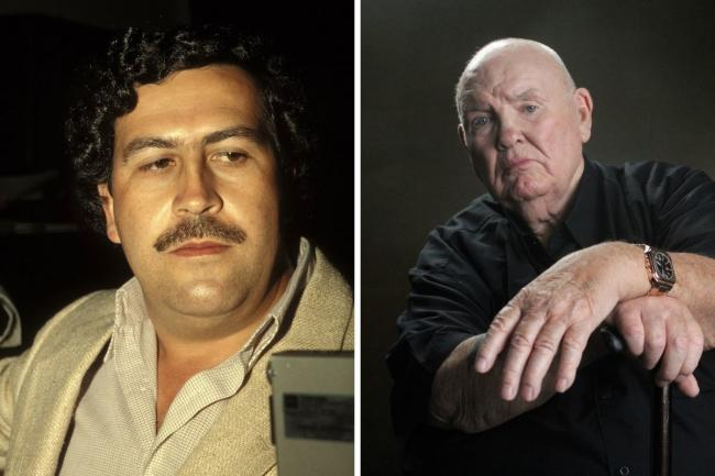 Peter McAleese, right, has told the story of his extraordinary attempt to kill Pablo Escobar