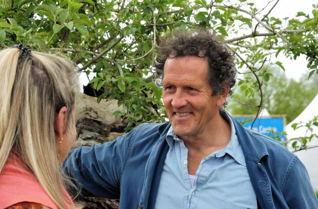 Hereford Times: Monty Don at the RHS Malvern Spring Show. Picture: Jonathan Barry