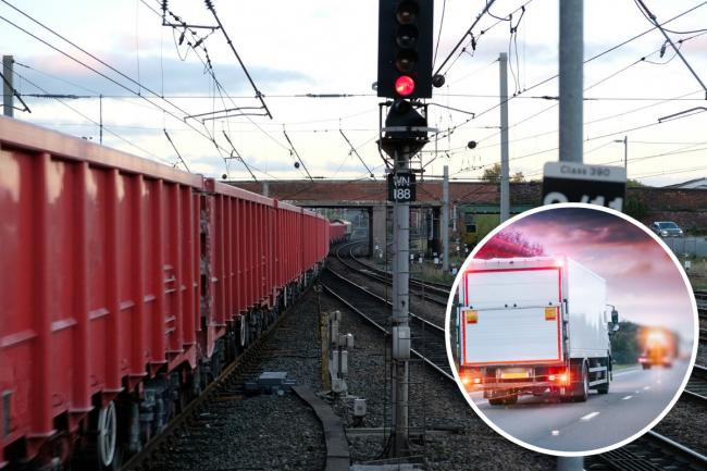 Shipping freight by rail makes more sense than using roads