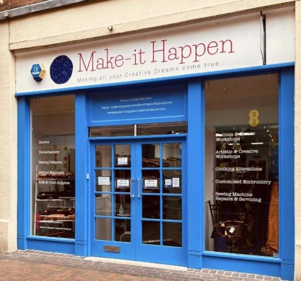 Hereford Times: Make-it Happen in the Maylord Shopping Centre