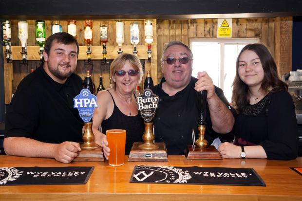 Hereford Times: The Kings Head has opened for the first time in more than five years. Picture: Rob Davies