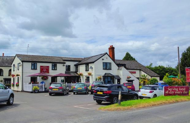 Hereford Times: The Three Horseshoes in Allensmore, near Hereford, has also reopened after lockdown