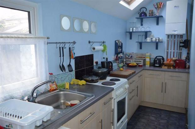 Hereford Times: This one bed semi-detached house in Ross-on-Wye is the cheapest in the county. Picture: Zoopla