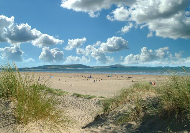 Hereford Times: Cefn Sidan, west of Swansea, is eight miles long and neighbours a popular country park