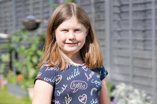 Hereford Times: Ava Bailey suffers from exhaustion as a result of her heart condition. Picture: Rob Davies