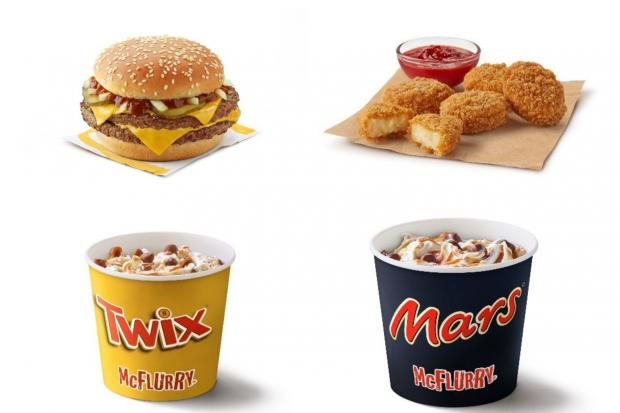 Hereford Times: McDonald's has unveiled a range of new items coming to the menu from today. (McDonald's)