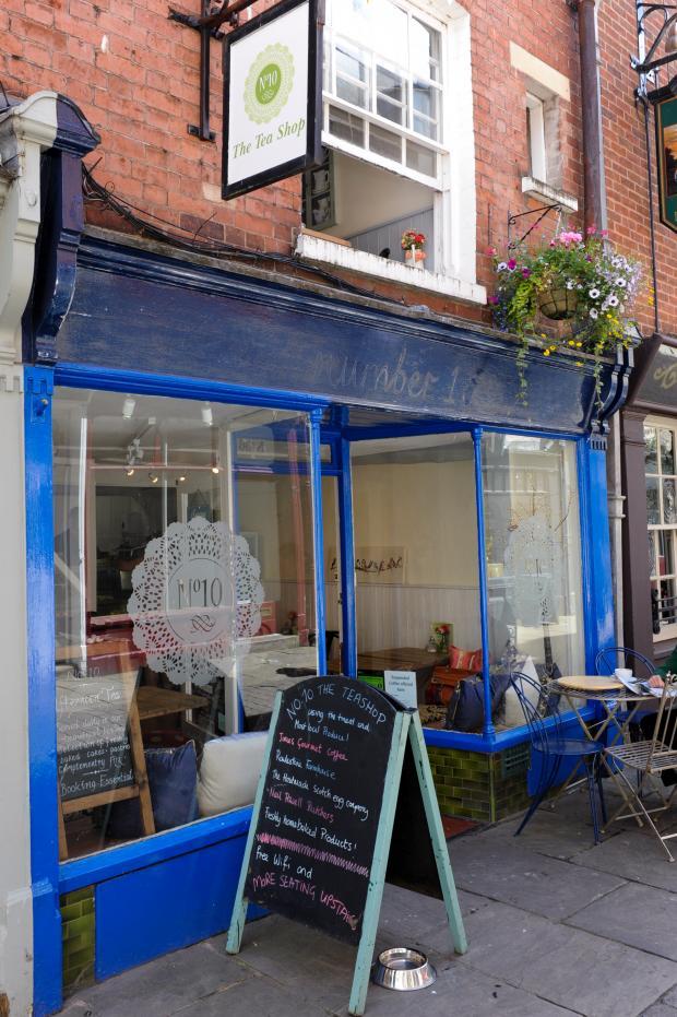 Hereford Times: No. 10 The Teashop, Church Street, Hereford