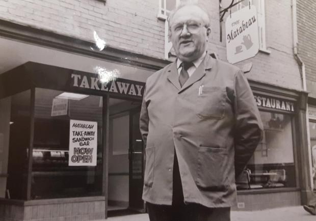 Hereford Times: Angelo Moruzzi in 1992