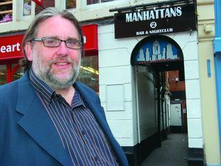 Hereford Times: Andy Catley, owner of Manhattans