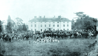 Harewood Park, potential home of Prince William and his future Princess Catherine, in the 1890s.