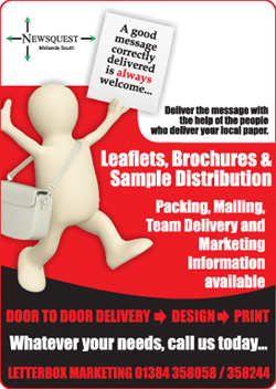 Hereford Times: leaflet distibution promotion