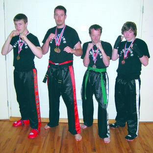 Hedendaags Leominster kickboxers made a real impact on the national PKA YT-07