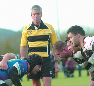 Top-level referee Karl Kirkpatrick takes charge of Luctonians ...