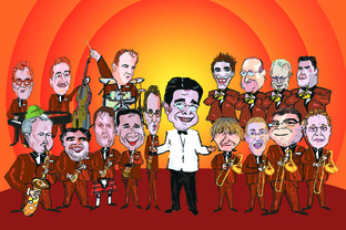 Chris Dean's Syd Lawrence Orchestra - 'best big band in the land' - comes to The Courtyard