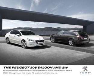Hereford Times: Peugeot 508 SW Allure 2.0 HDi 163 6-speed automatic.