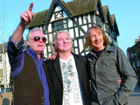 Mott the Hoople members reunited earlier in the year for the Borderlines launch of The Ballad of Mott the Hoople