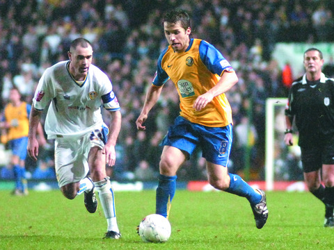 Ben Smith starred in an FA Cup tie at Leeds in the 2007-8 season which he says was the most enjoyable of his career.