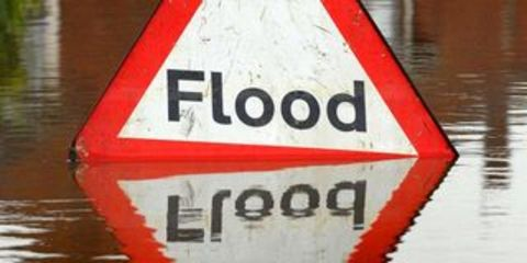 Police are warning people not to drive through flooded roads.