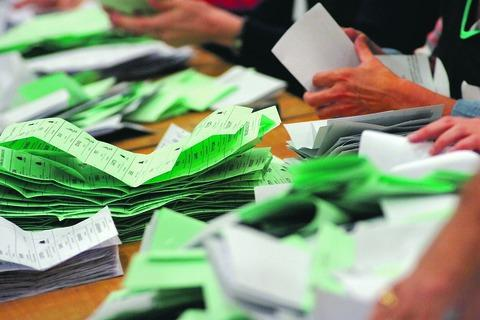 Elections are underway across Powys