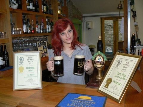 Herefordshire Business News: Leintwardine pub backs 'Mild in May' campaign