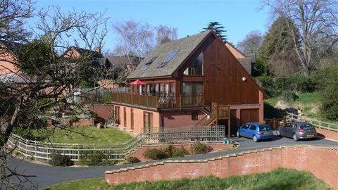 Designed for the beautiful views in Hampton Park, Hereford
