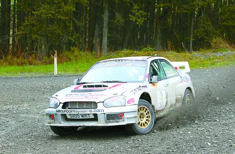 Hereford rally ace Roger Chilman won the Plains Rally. Picture: KPB Photography