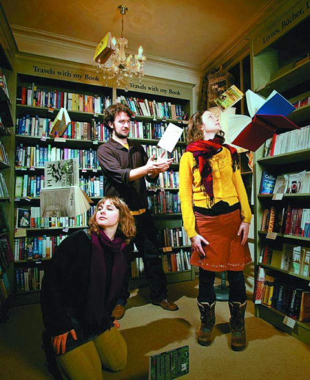 The Bookshop Band heads to Ross and Monmouth