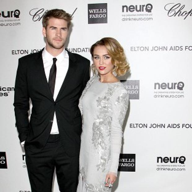 Liam Hemsworth and Miley Cyrus got engaged last week
