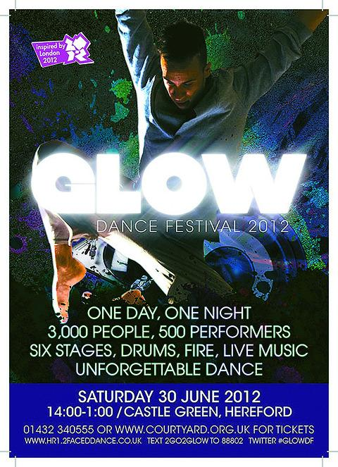 It's dance all the way at GLOW, Herefordshire's biggest and boldest dance event
