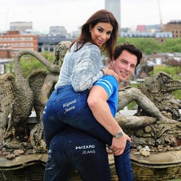 Shobna Gulati and John Barrowman have won the Wizard Jeans Rear Of The Year